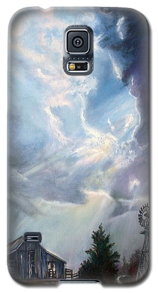 Texas Thunderstorm Galaxy S5 Case by Karen Kennedy Chatham