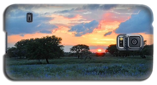 Texas Wildflower Sunset  Galaxy S5 Case