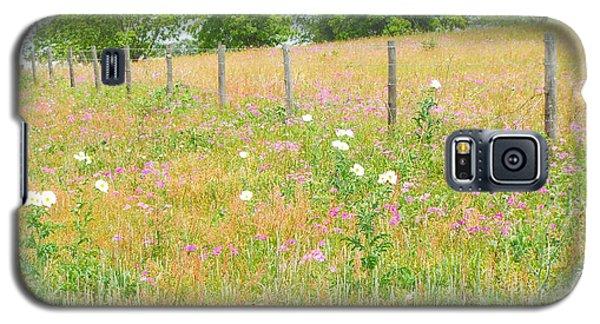 Texas Wildflowers II Galaxy S5 Case by Audrey Van Tassell