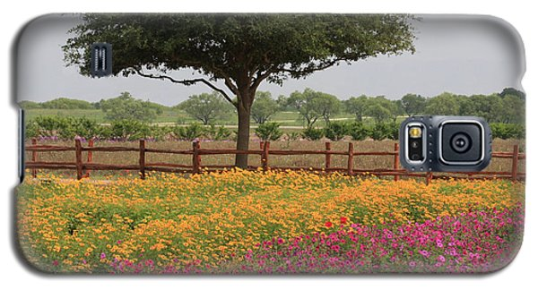 Texas Wildflowers Galaxy S5 Case