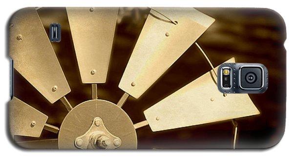 Texas Windmill Galaxy S5 Case by Elizabeth Budd