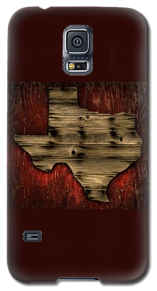 Texas Wood Galaxy S5 Case