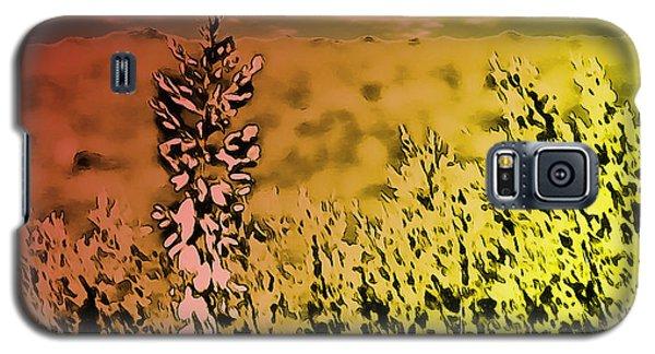 Texas Yucca Flower Galaxy S5 Case