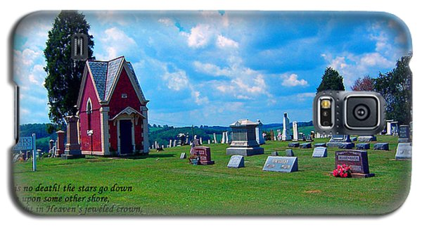 Galaxy S5 Case featuring the photograph Fryburg Cemetery by Gena Weiser
