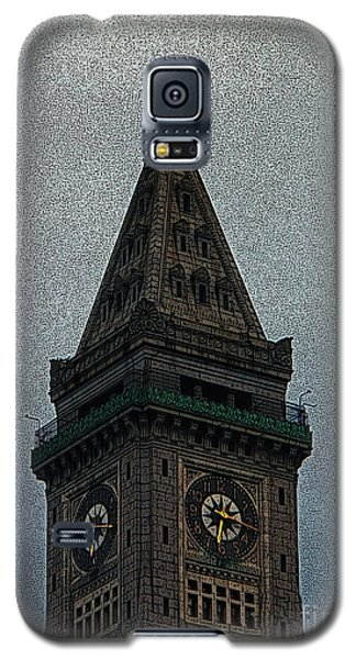 Galaxy S5 Case featuring the photograph Textured Church Steeple  by Gena Weiser