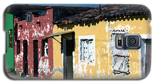 Textured - City In Mexico Galaxy S5 Case