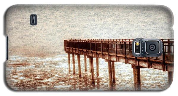 Textured Gallagher Winter Dock Galaxy S5 Case