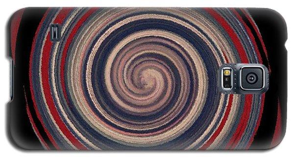 Galaxy S5 Case featuring the digital art Textured Matt Finish by Catherine Lott