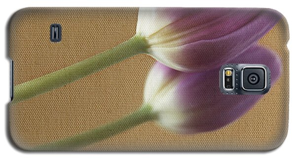 Textured Purpletulip Galaxy S5 Case