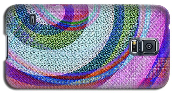 Textured Swirl Abstract Galaxy S5 Case by Jessica Wright
