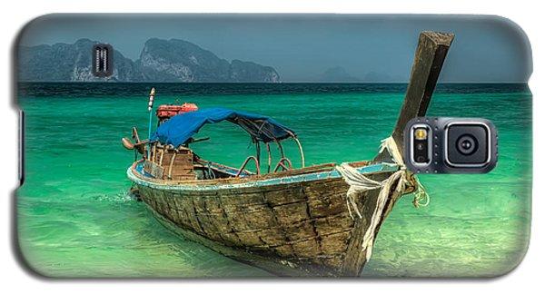 Thai Boat  Galaxy S5 Case by Adrian Evans