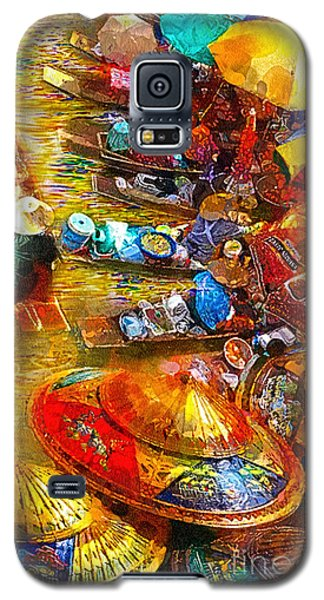 Thai Market Day Galaxy S5 Case by Mo T