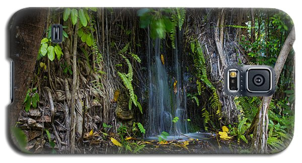 Galaxy S5 Case featuring the photograph Thailand Waterfall by Mike Lee
