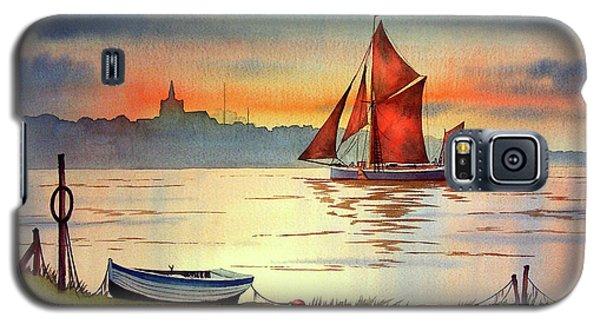 Thames Barge At Maldon Essex Galaxy S5 Case