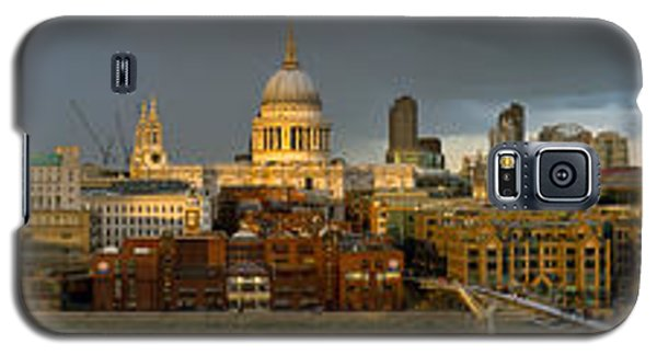 Thames With St Paul's Panorama Galaxy S5 Case