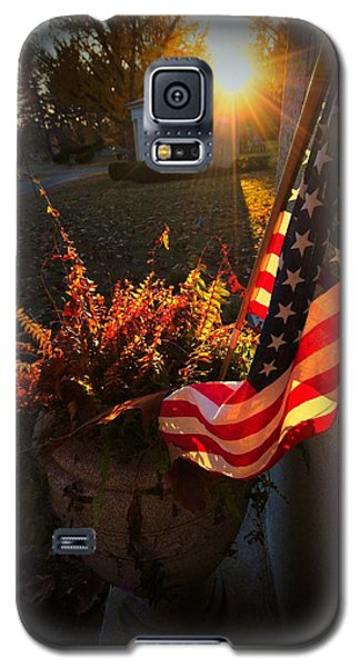 Galaxy S5 Case featuring the photograph Thank You For Serving by Robert McCubbin