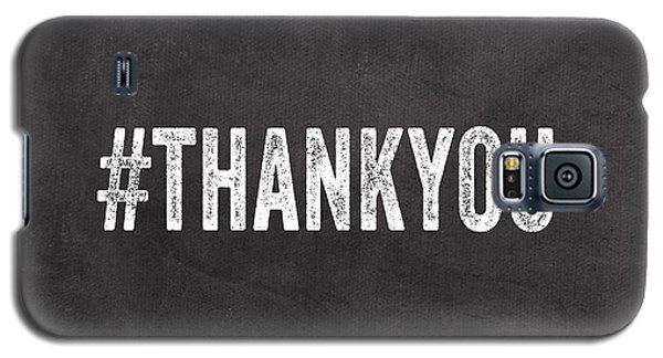 Thank You- Greeting Card Galaxy S5 Case