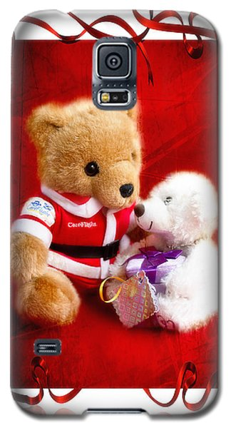 Galaxy S5 Case featuring the photograph Thank You Santa 01 by Kevin Chippindall