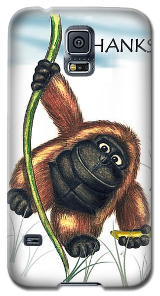 Thanks Galaxy S5 Case by Jerry Ruffin