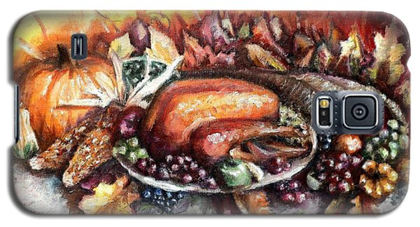 Thanksgiving Dinner Galaxy S5 Case