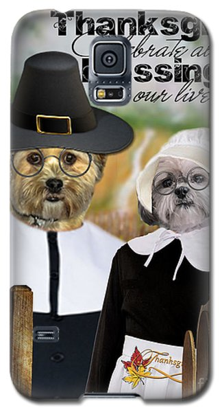 Thanksgiving From The Dogs Galaxy S5 Case