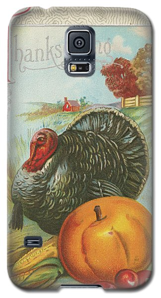 Thanksgiving Postcards I Galaxy S5 Case
