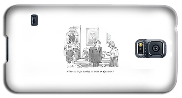 That One Is For Learning The Lesson Galaxy S5 Case by Dana Fradon