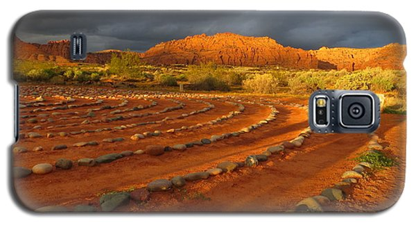 Galaxy S5 Case featuring the photograph St George, Utah by Jean Marie Maggi