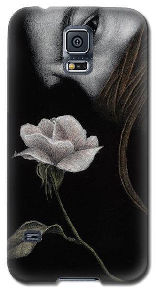 Galaxy S5 Case featuring the painting That Which Will Not Be Silenced by Pat Erickson