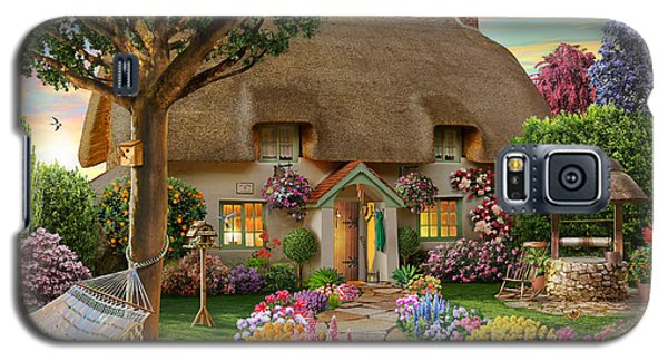 Thatched Cottage Galaxy S5 Case by Adrian Chesterman