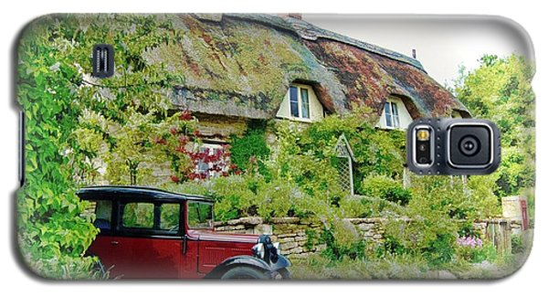 Thatched Cottages At Reybridge Galaxy S5 Case