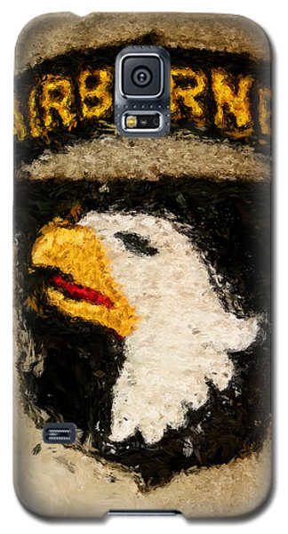 The 101st Airborne Emblem Painting Galaxy S5 Case