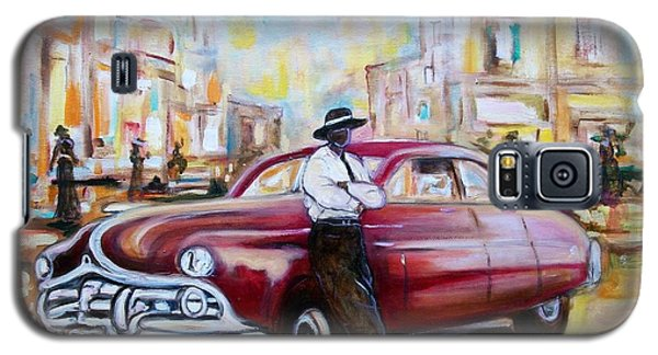 Galaxy S5 Case featuring the painting The 1950 by Emery Franklin