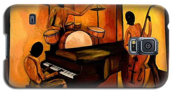 The 1st Jazz Trio Galaxy S5 Case by Larry Martin