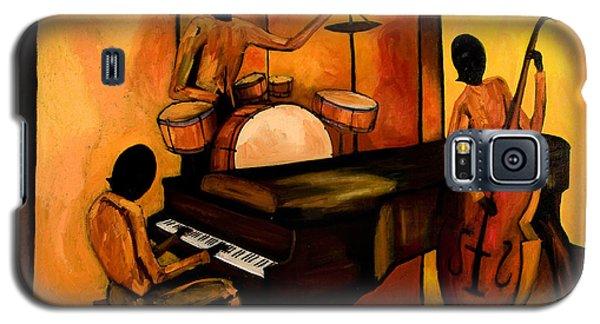 Drum Galaxy S5 Case - The 1st Jazz Trio by Larry Martin