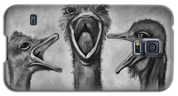 The 3 Tenors Bw Galaxy S5 Case by Leah Saulnier The Painting Maniac