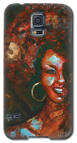 Galaxy S5 Case featuring the painting The 70s Were The Best by Alga Washington