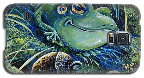 The Acorn Galaxy S5 Case by Gail Butler