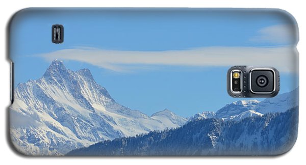 The Alps In Azure Galaxy S5 Case by Felicia Tica