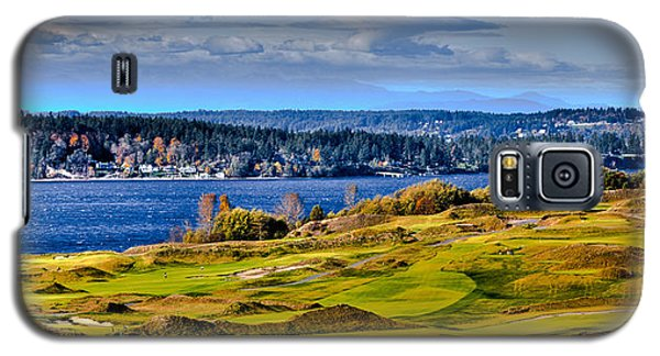 The Amazing Chambers Bay Golf Course - Site Of The 2015 U.s. Open Golf Tournament Galaxy S5 Case