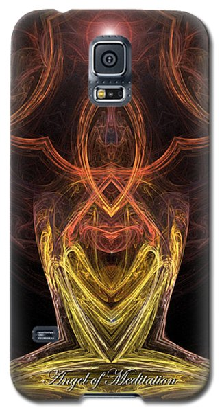 The Angel Of Meditation Galaxy S5 Case