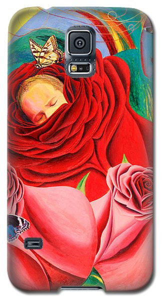 The Angel Of Roses Galaxy S5 Case