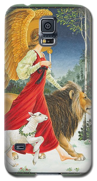 The Angel The Lion And The Lamb Galaxy S5 Case