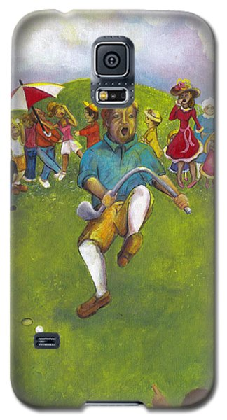 The Angry Golfer  Galaxy S5 Case