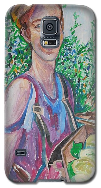 The Apple Picker Galaxy S5 Case by Esther Newman-Cohen