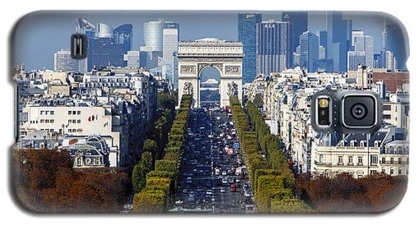 The Arc De Triomphe Paris France Galaxy S5 Case