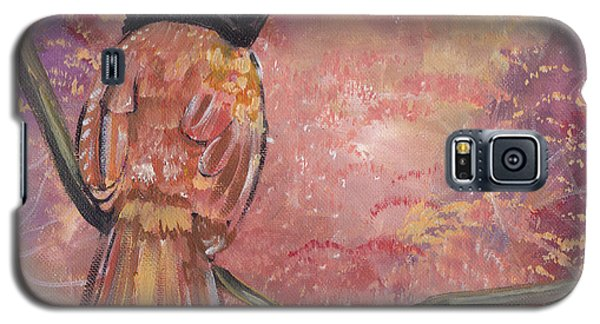 Galaxy S5 Case featuring the painting The Arrival Of Spring by John Keaton