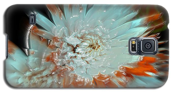 Galaxy S5 Case featuring the photograph The Art Of Flowers by Sherri  Of Palm Springs