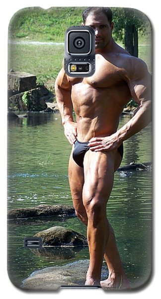 Galaxy S5 Case featuring the photograph The Art Of Muscle Marius by Jake Hartz