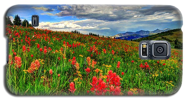 The Art Of Wildflowers Galaxy S5 Case